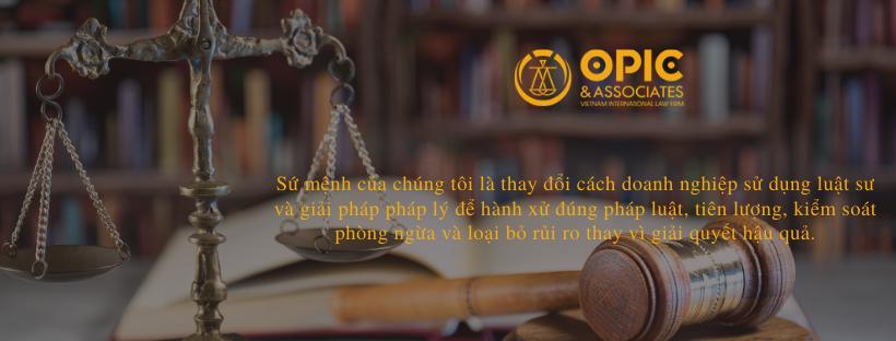 Luật OPIC và Cộng sự tuyển dụng luật sư và thực tập sinh ngành luật