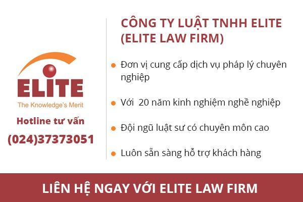 Elite Law firm tuyển dụng Chuyên viên Tư vấn sở hữu trí tuệ tại Hà Nội
