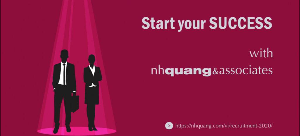 NHQuang và Cộng sự tuyển dụng Luật sư tập sự làm việc tại Hà Nội