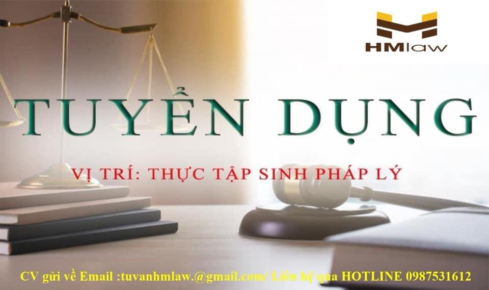 HM Law tuyển thực tập sinh pháp lý 2020