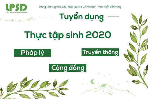 lpsd tuyển thực tập sinh luật tại Hà Nội