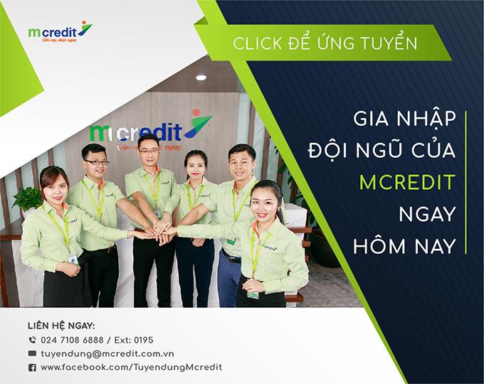 MCreditJobs - MCredit tuyển dụng Phó phòng Pháp chế tại Hà Nội năm 2021