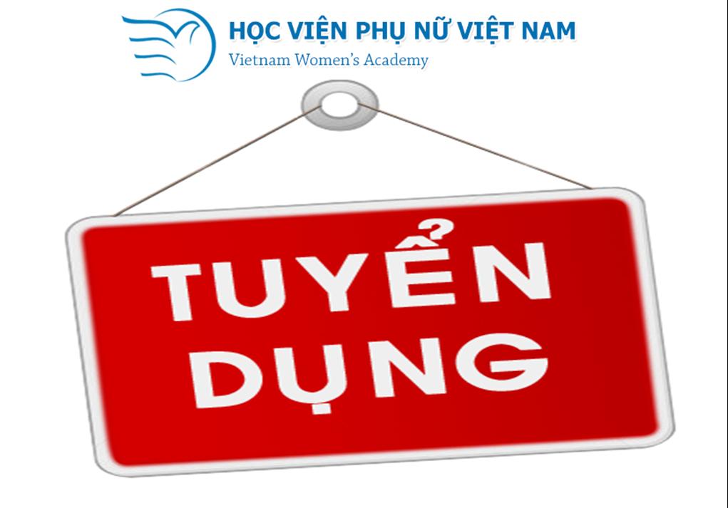 Học viện Phụ nữ tuyển dụng Giảng viên Luật Kinh tế tại Hà Nội năm 2021
